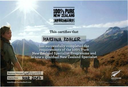 Neuseeland Spezialist